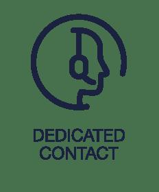 Dedicated Contact