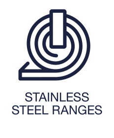 Stainless Steel Ranges